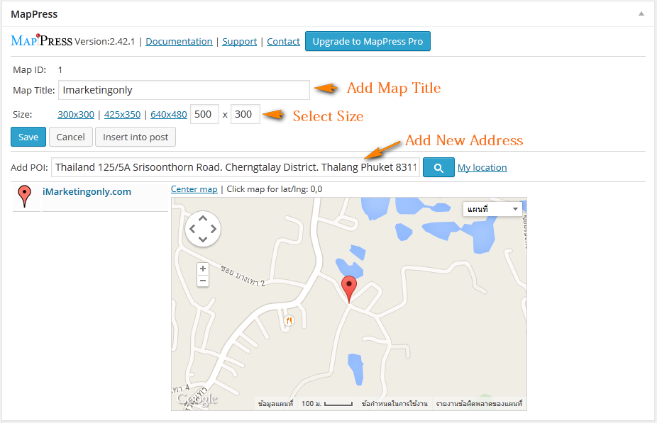 How to use MapPress Easy Google Maps in WordPress Go Back To Google Maps on go to amazon, go to netflix, go to internet, go to mail, go to ebay, go to home, go to settings, go to email, go to facebook,