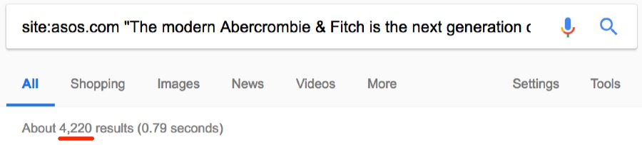 Google Search Operators