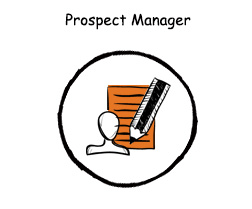 Imarketing developed a number of Prospect management database (CRM system) that assist website visitors in achieving their objectives.