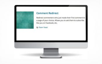 Comment Redirect Plugin