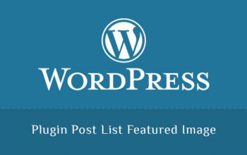 Plugin Post List Featured Image