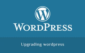 Upgrading wordpress