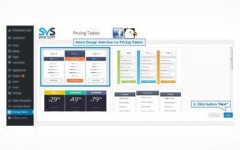 SVS Pricing Tables Plugin
