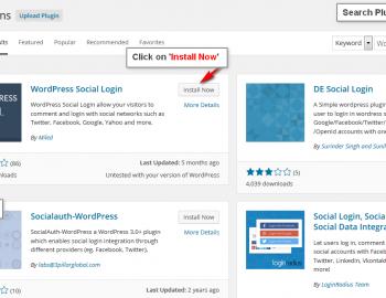 WordPress-Social-Login