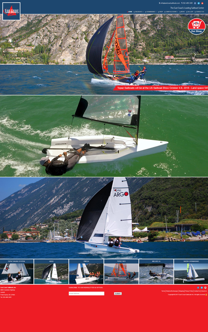 East Coast Sail Boats