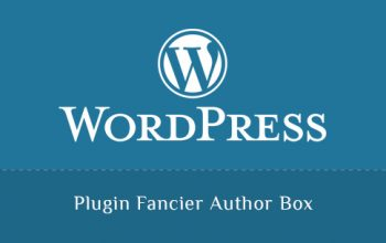 Plugin Fancier Author Box