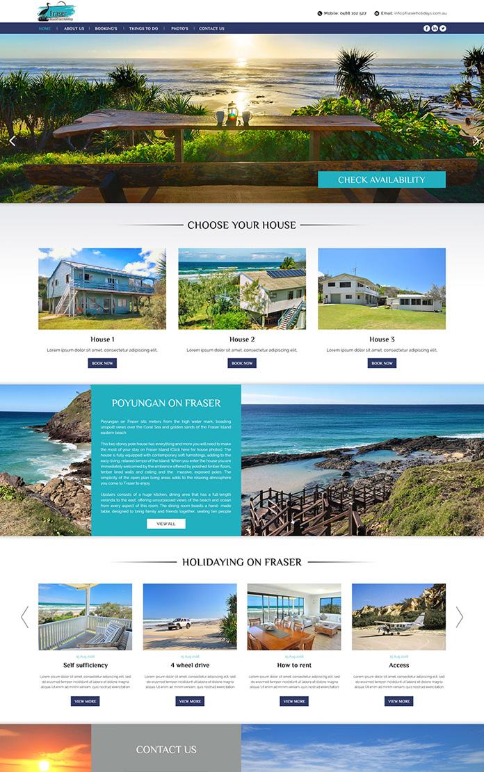 Fraser Beachfront Holidays