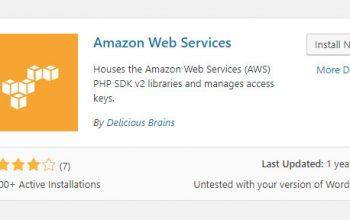 amazon web services plugin