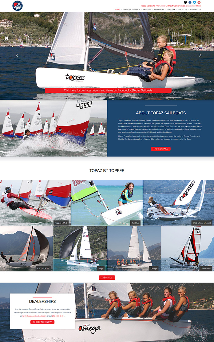 Topaz & Topper Sailboats
