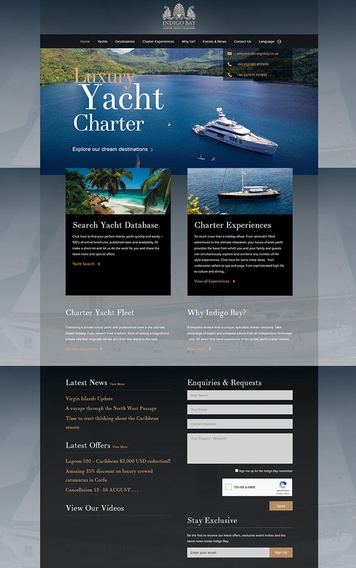 Indigo Bay Yacht Charter